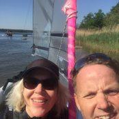 Eva i Karlskrona med sin nya Weta